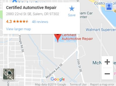 Certified Automotive Repair on Google Maps